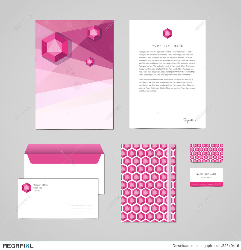 Corporate Identity Design Template Documentation For Business