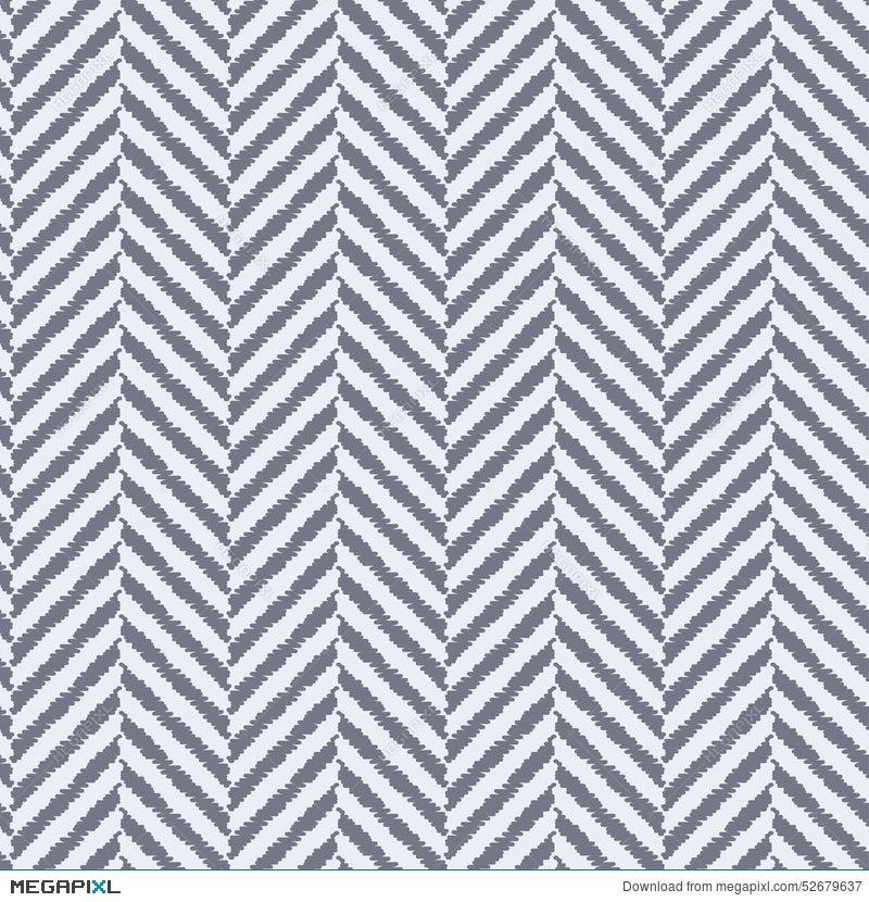 Seamless Textured Herringbone Fabric Pattern Illustration
