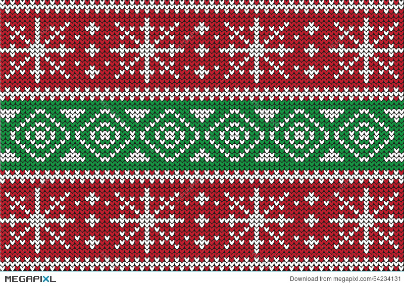 christmas sweater design seamless pattern