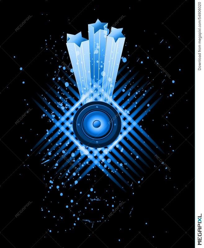 Background For Musical Event Flyer Illustration 54906020 Megapixl