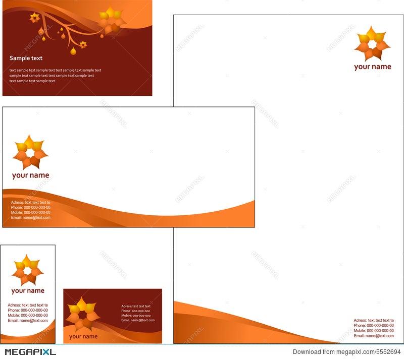 Letterhead template design vector illustration 5552694 megapixl letterhead template design vector spiritdancerdesigns Gallery