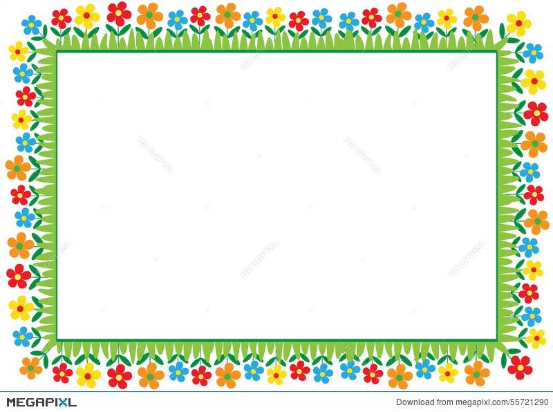 Kids Frame Illustration 55721290 - Megapixl