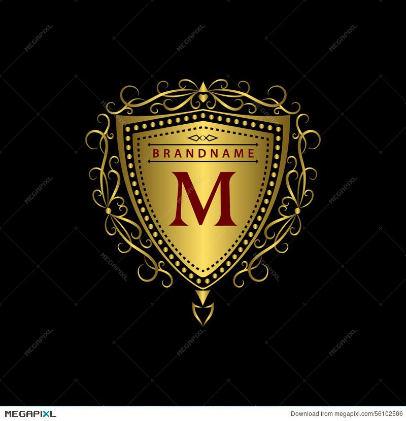 Monogram design elements graceful template calligraphic elegant monogram design elements graceful template calligraphic elegant line art logo design gold letter wajeb Images