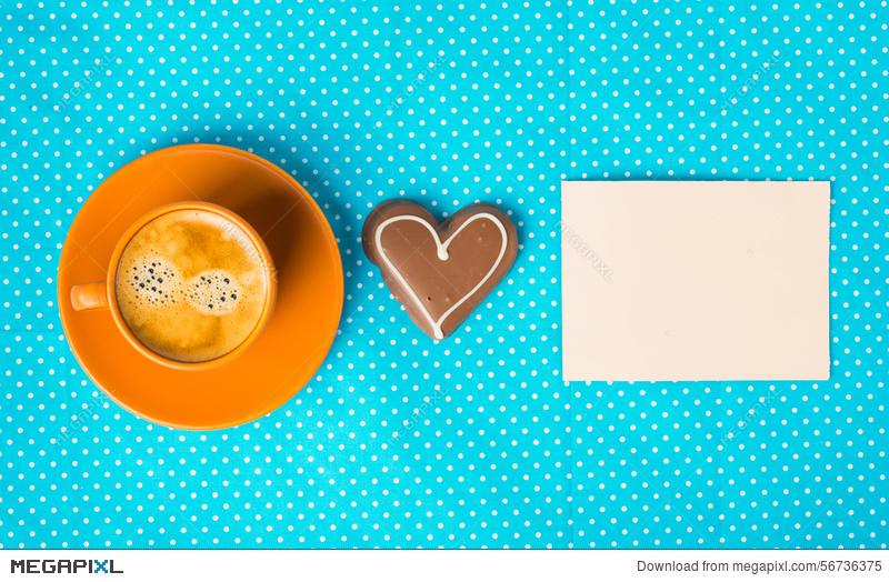 Have A Nice Day Good Morning With Cup Of Coffee Stock Photo