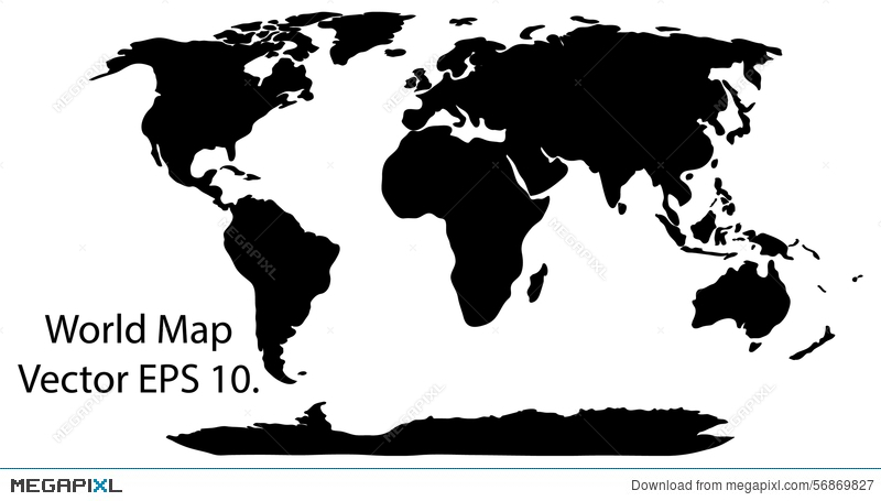 World map earth globe vector illustrator illustration 56869827 world map earth globe vector illustrator gumiabroncs Images