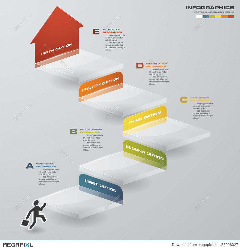 Abstract business chart 5 steps diagram templategraphic or website abstract business chart 5 steps diagram templategraphic or website layout ccuart Choice Image