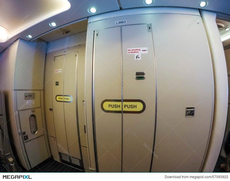 Aircraft lavatory & Aircraft Lavatory Stock Photo 57093922 - Megapixl
