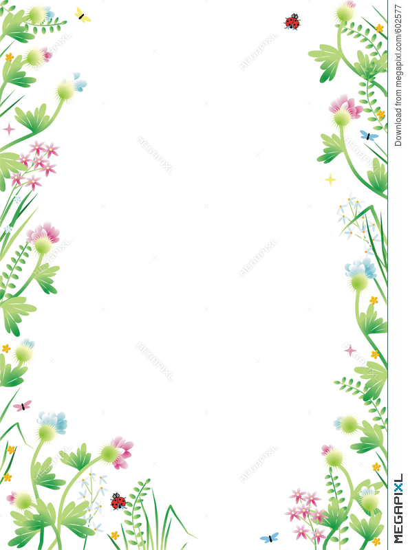 Fantasy Garden Background 3