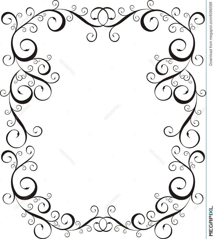 Frame Letter Border Illustration 6096588 - Megapixl