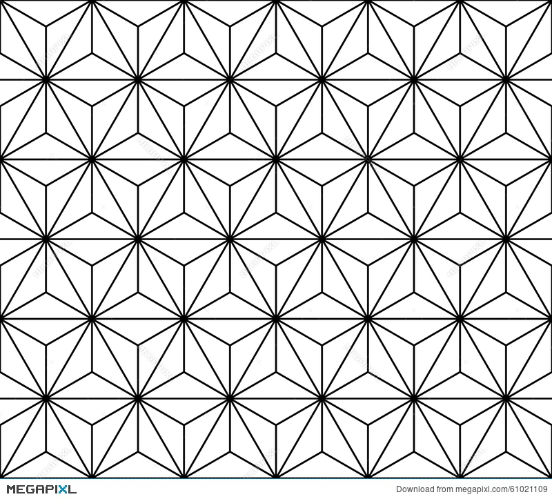 Vector Modern Seamless Sacred Geometry Pattern Black And White Interesting Sacred Geometry Patterns