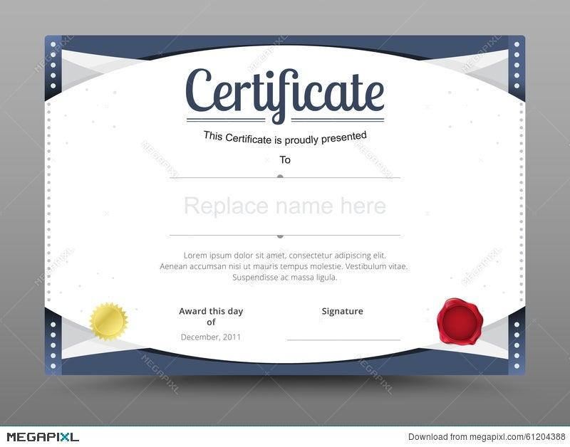 Elegant Certificate Template Business Certificate Formal Theme
