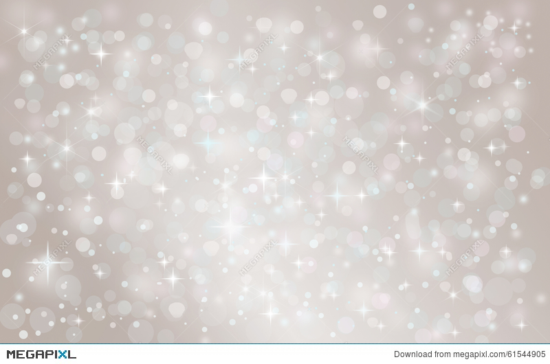 Christmas Holiday Background.Silver Abstract Snow Falling Winter Christmas Holiday