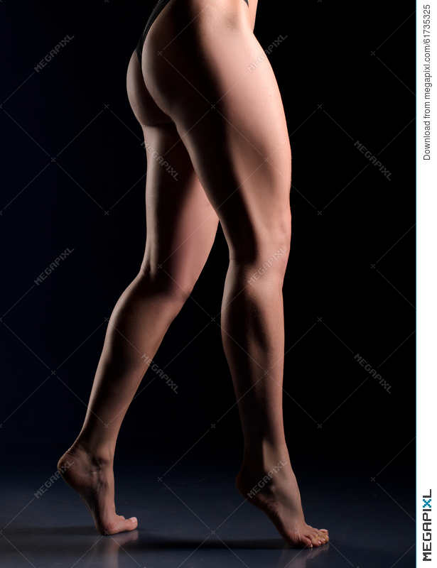 Female Muscular Legs And Buttocks Stock Photo 61735325 - Megapixl