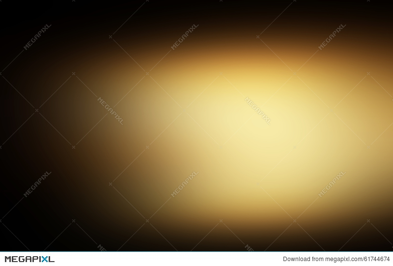 Dark Gold And Black Defocused Abstract Gold Background