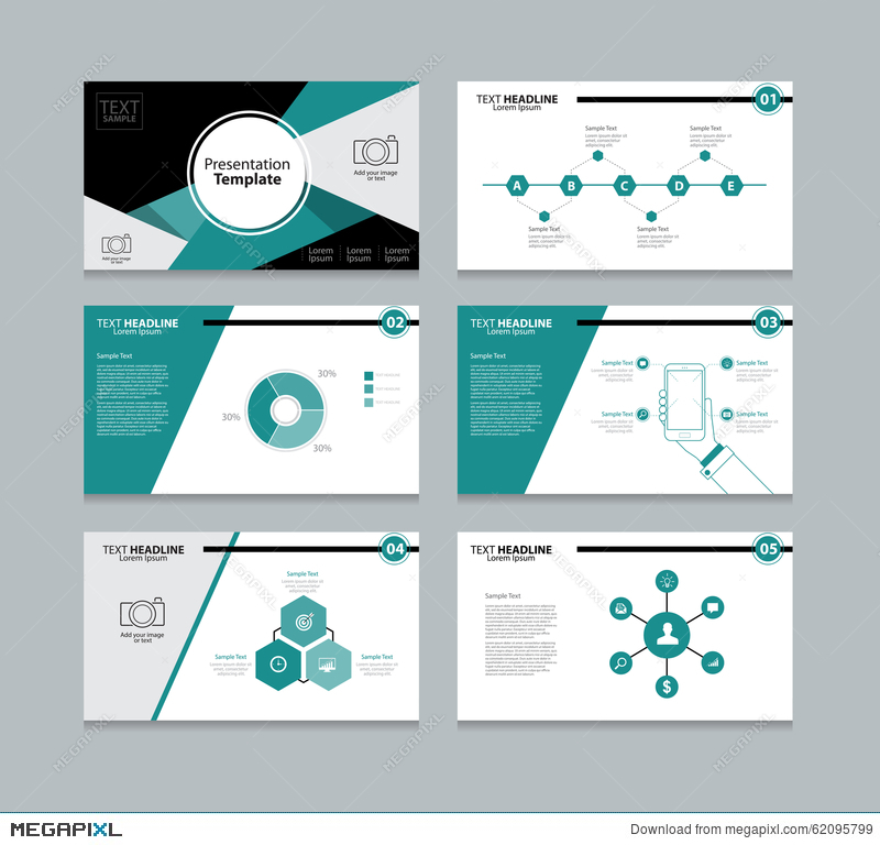 abstract vector template presentation slides background design, Presentation templates