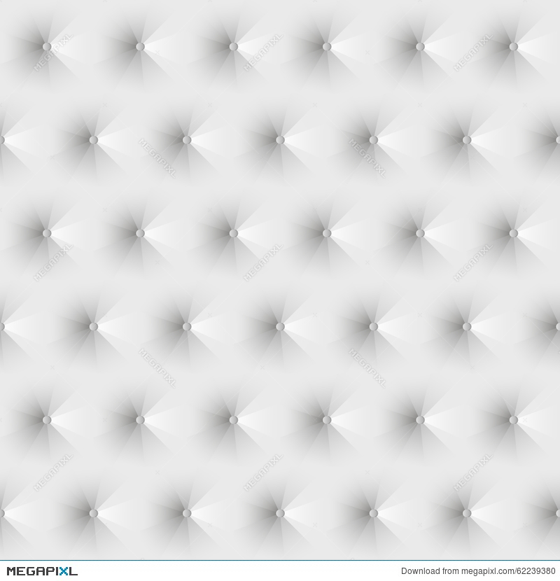 Seamless Texture Upholstery White Leather