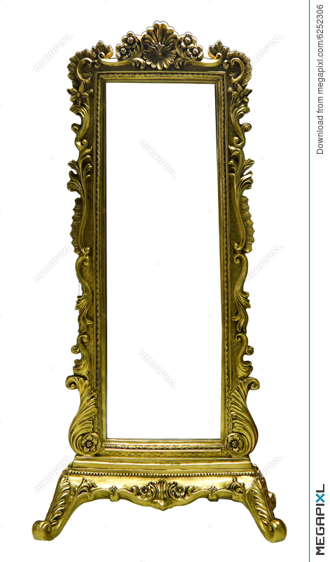 Old Mirror Frame Stock Photo 6252306 - Megapixl