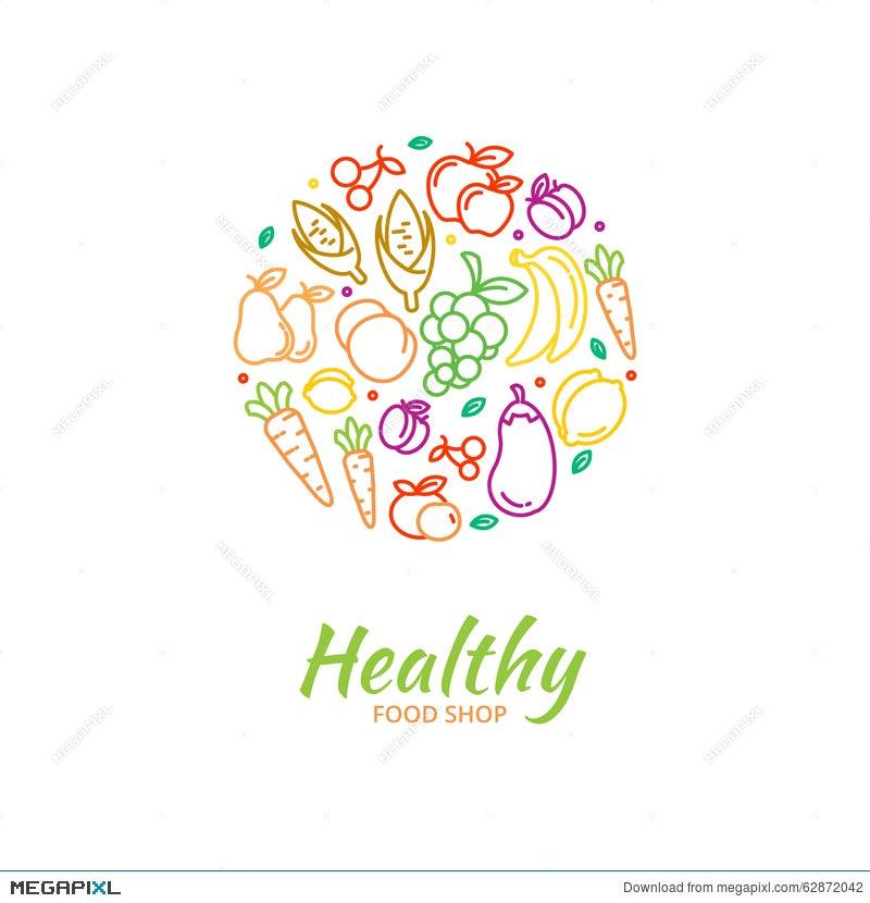 Vegetable Market Logo
