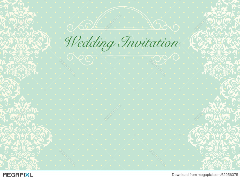 mint green wedding invitation background - Wedding Invitation Background