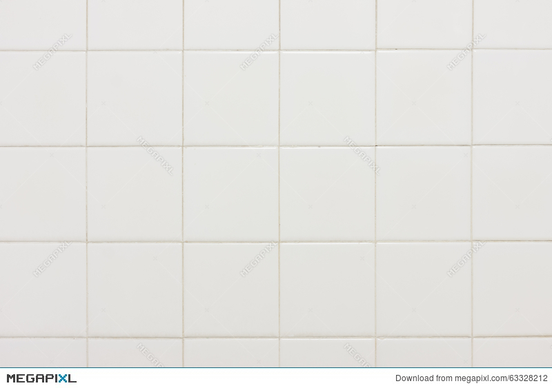 Old White Bathroom Tiles Texture Background