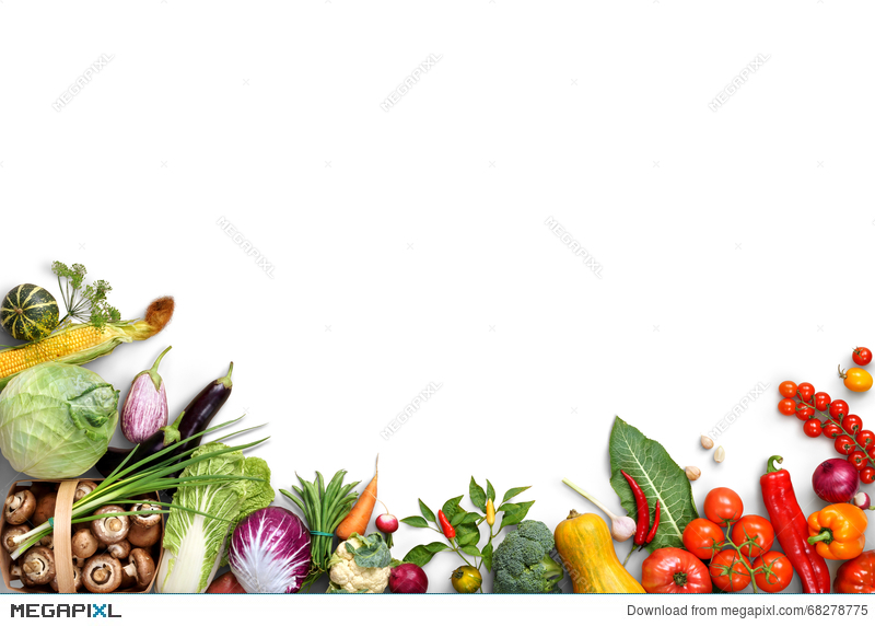 organic food background food photography different fruits and