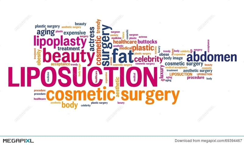 Liposuction Illustration 69394467 - Megapixl