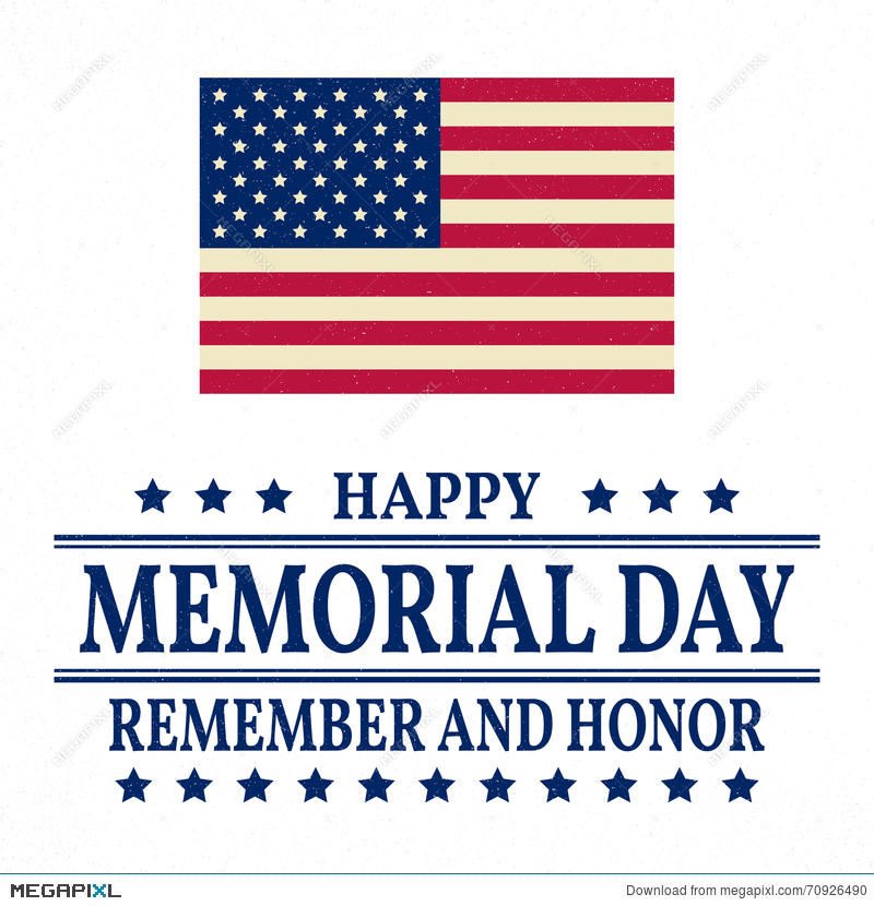 happy memorial day background template happy memorial day poster