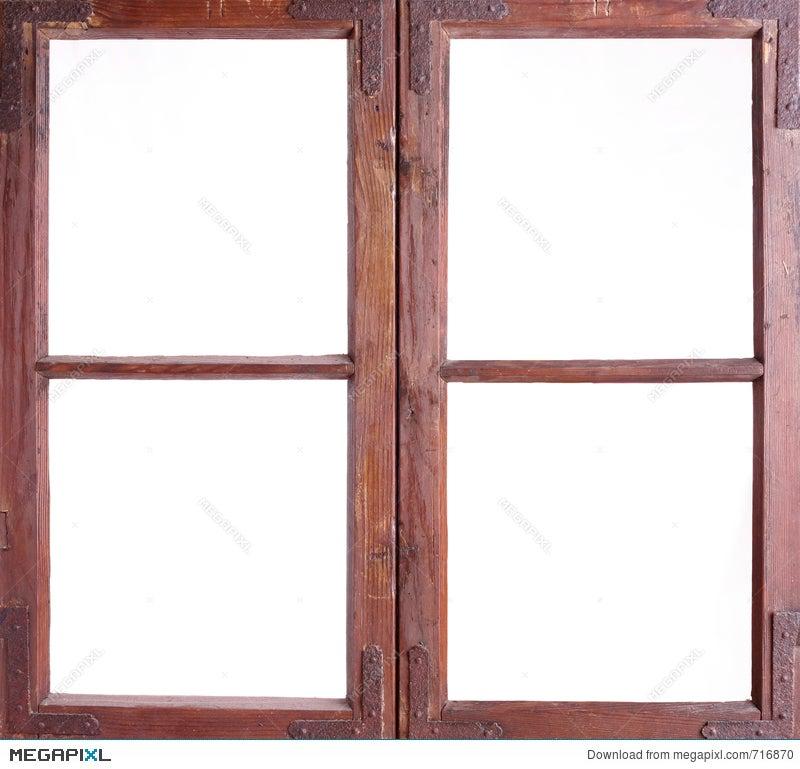 Old Window Frame Stock Photo 716870 - Megapixl