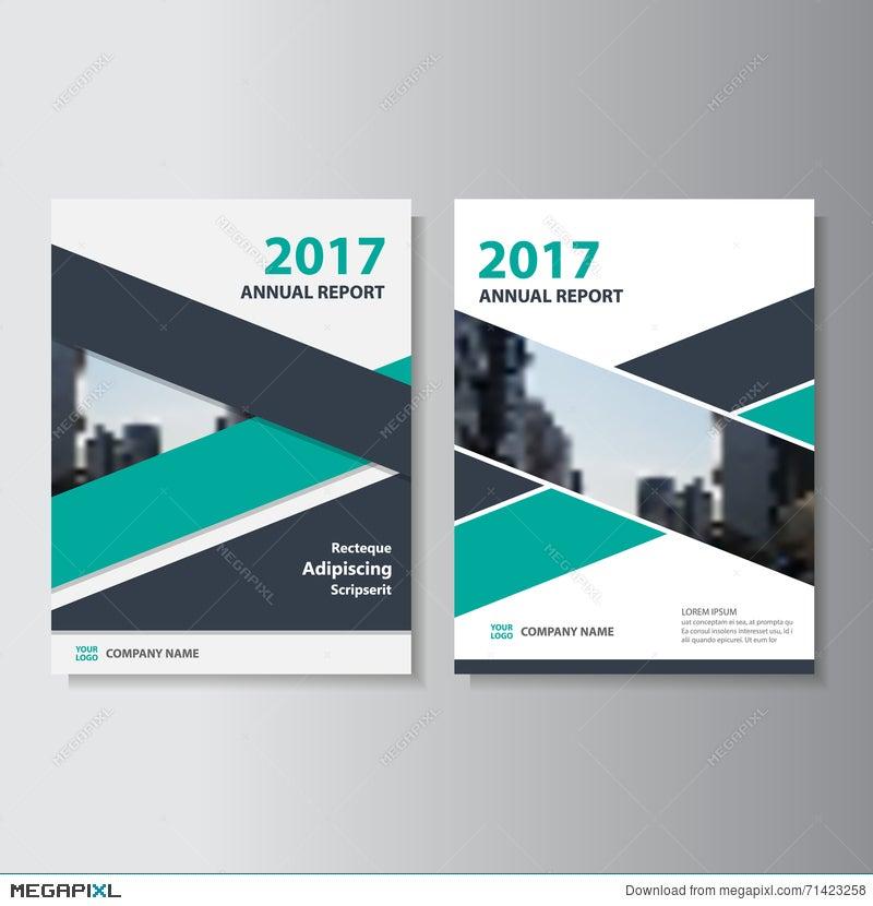 green black vector annual report leaflet brochure flyer template, Presentation templates