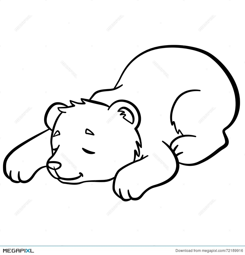 Coloring Pages Wild Animals Little Cute Stock-Vektorgrafik ... | 830x800