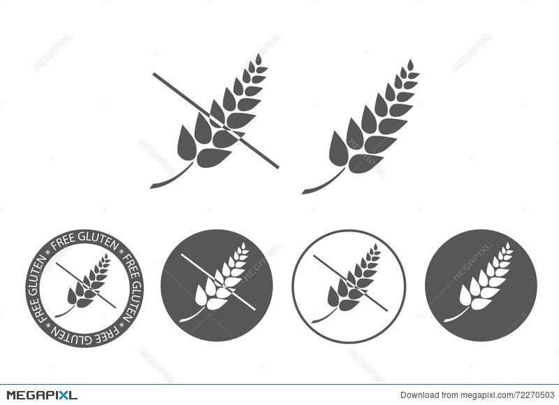 Gluten Free Icon Illustration 72270503 - Megapixl