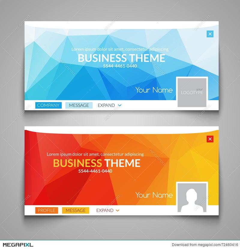 web business site design header layout template creative corporate advertisement cover web design