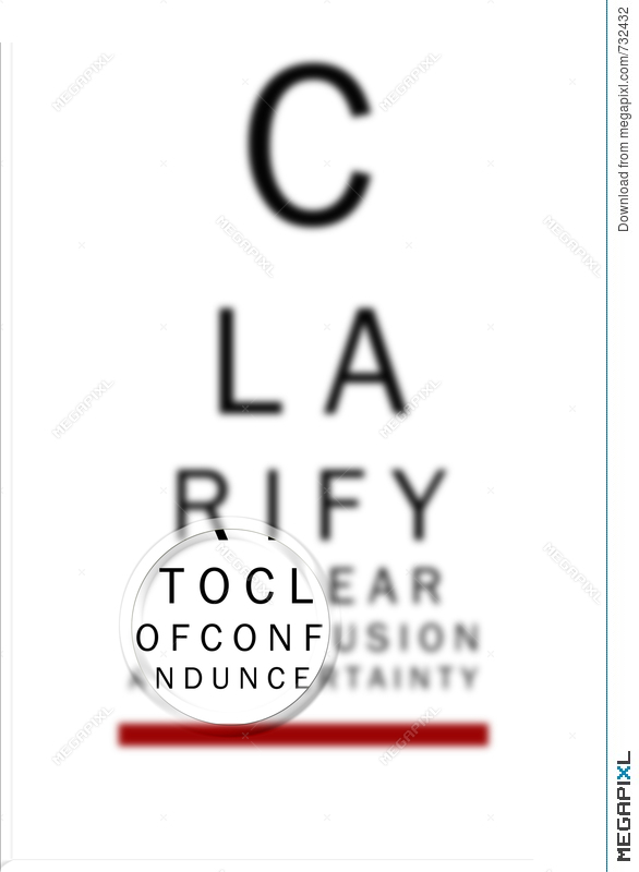 Eye Chart Clarify 2 Illustration 732432 - Megapixl