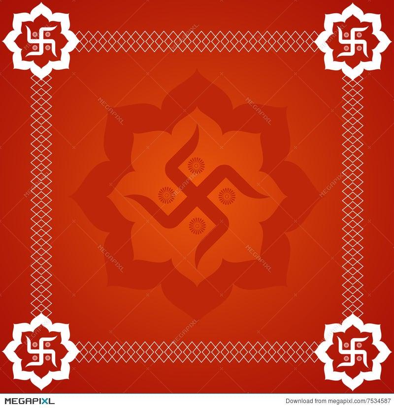 Abstract Swastika Background Illustration 7534587 Megapixl