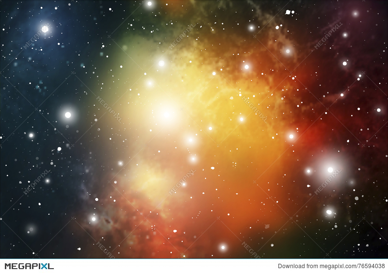 Astrology Mystic Background Outer Space Vector Digital Illustration Of Universe Vector Galaxy Background Illustration 76594038 Megapixl