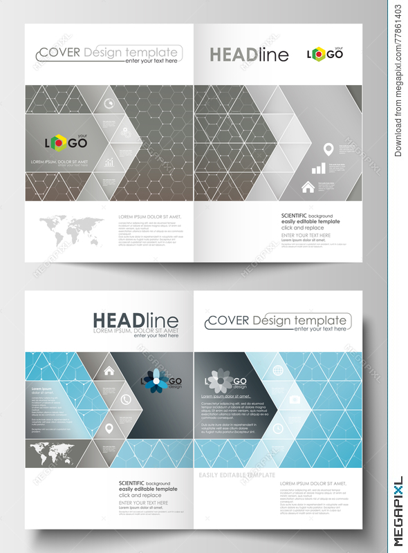 Business Templates For Brochure, Magazine, Flyer. Cover Template ...