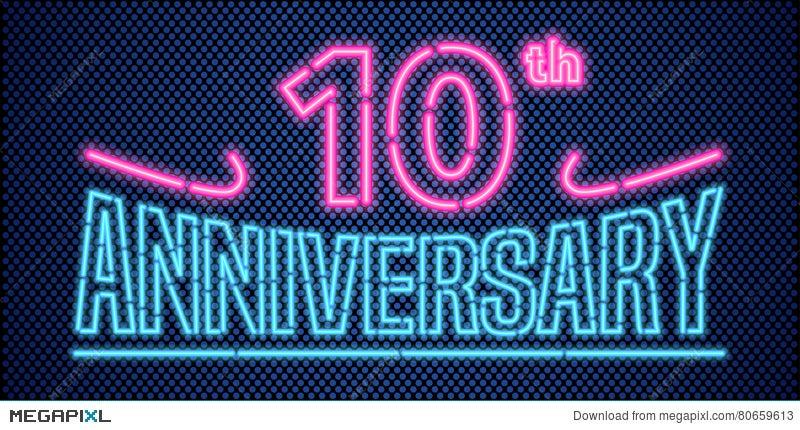 Years anniversary vector illustration banner flyer logo