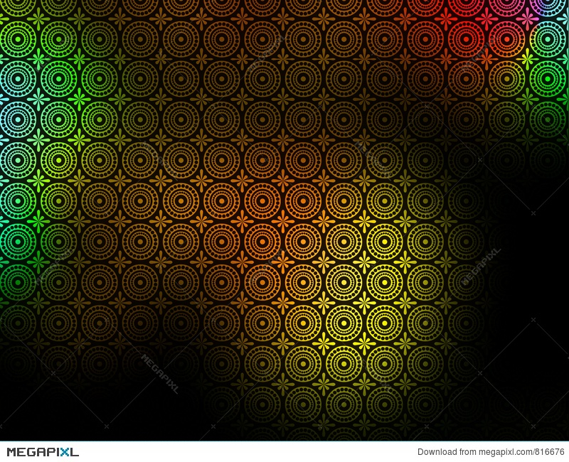 Black Yellow Red Green Patterned Background Wallpaper Illustration 816676 Megapixl