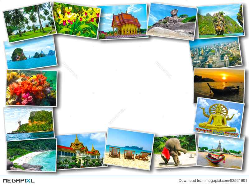 Thai Travel Tourism Concept Design