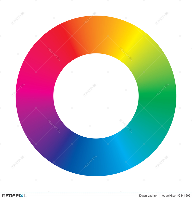 Vector Color Wheel Illustration 8441598 Megapixl