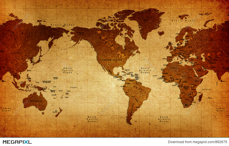 Old world map illustration 862675 megapixl old world map gumiabroncs Images