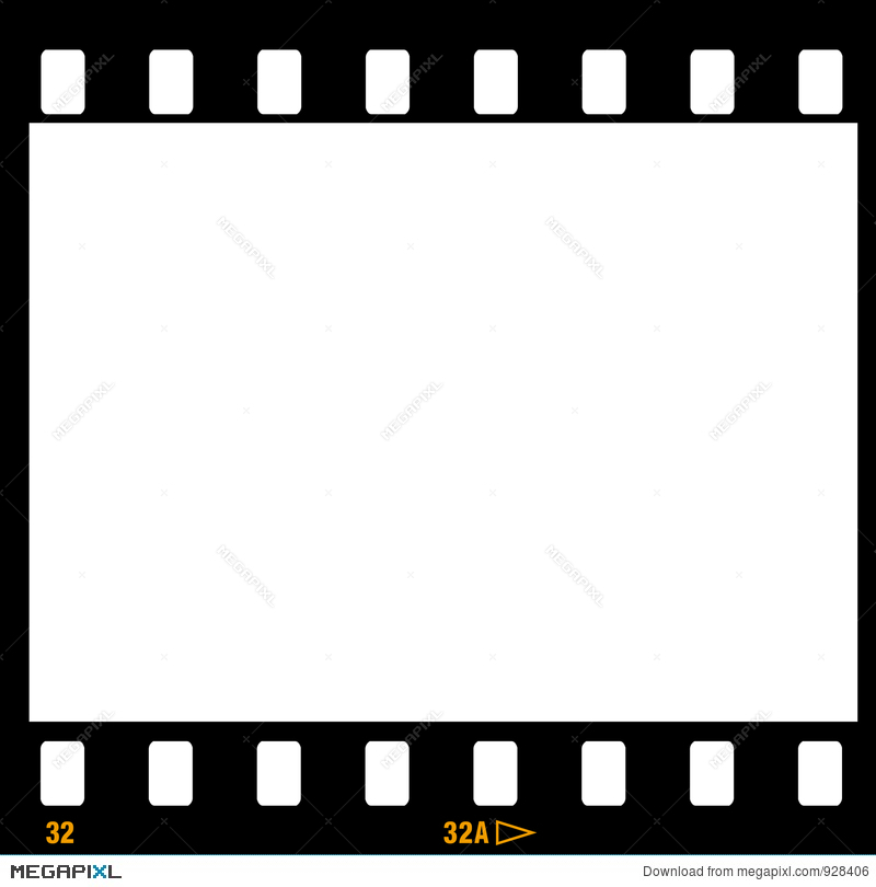 35Mm Film Strip Frame Frames Illustration 928406 - Megapixl